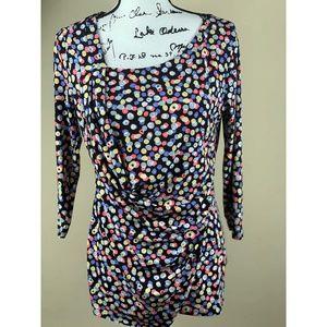 Vince Camuto crossbody blouse size M.